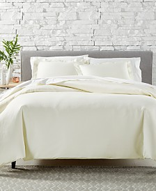 AQ Textiles Bergen 3-Pc. Duvet Sets, 1000 Thread Count 100% Egyptian Cotton