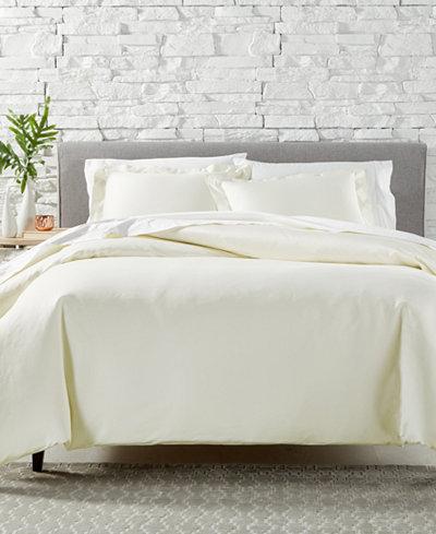 AQ Textiles Bergen 3-Pc. Duvet Sets, 1000 Thread Count 100% Egyptian Cotton