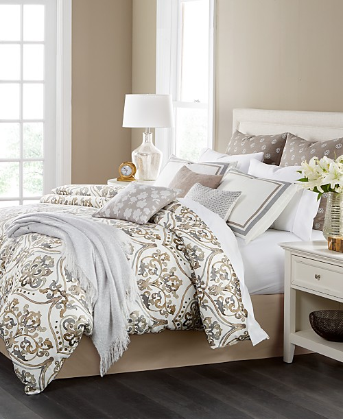 martha stewart collection victoria reversible 14 pc california king comforter set only at macy. Black Bedroom Furniture Sets. Home Design Ideas