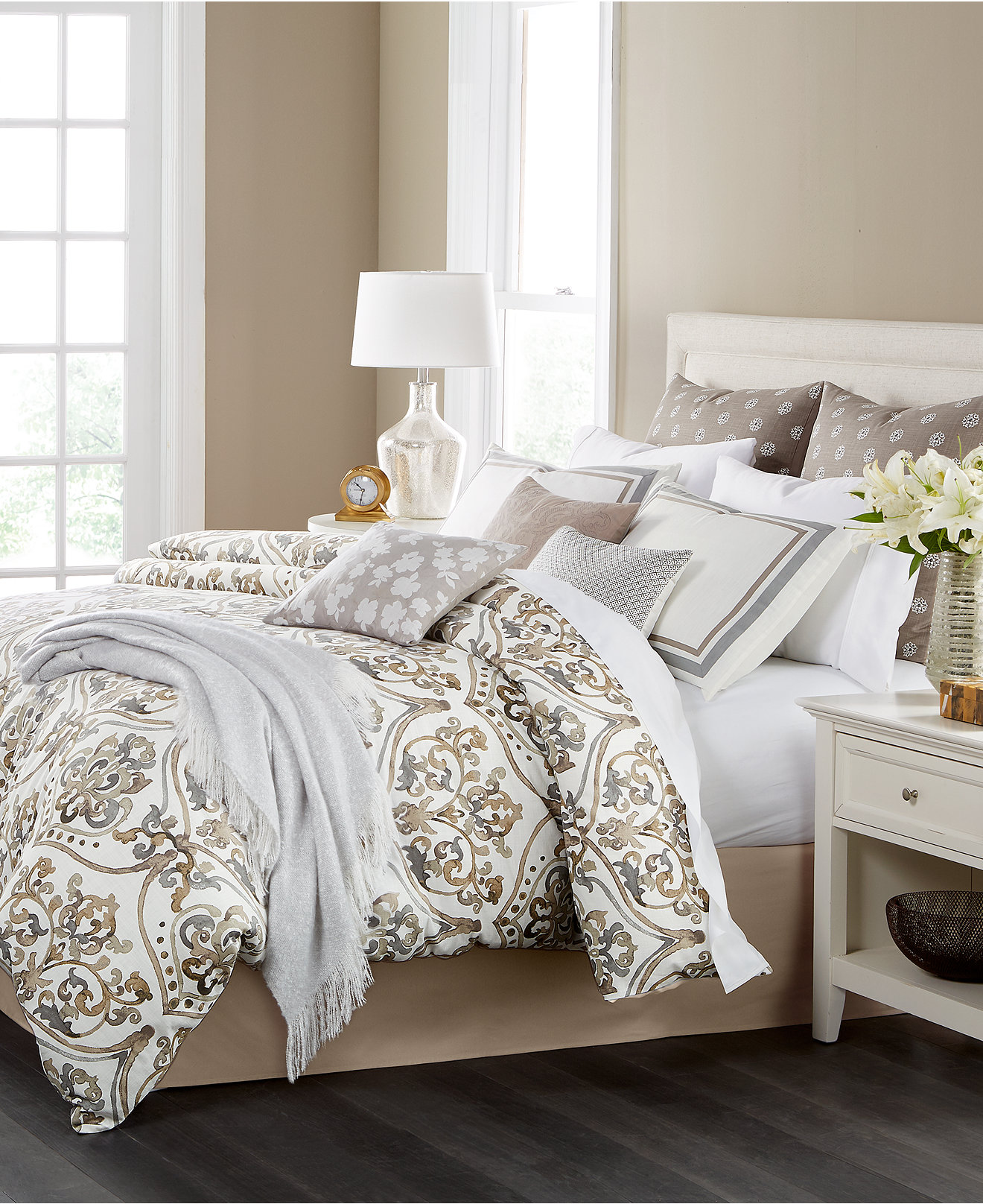 Martha Stewart Collection Victoria 14 Pc Comforter Sets Created For Macy S