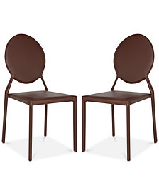 Charlene Set of 2 Dining Chairs, Quick Ship