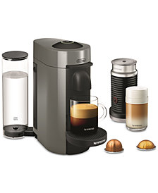 Nespresso Vertuo Plus Coffee and Espresso Maker by De'Longhi with Aerocinno
