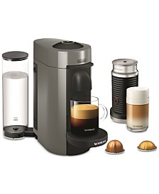 Nespresso by De'Longhi VertuoPlus Coffee and Espresso Machine with Aerocinno