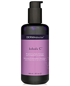DERMAdoctor Kakadu C Brightening Daily Cleanser With Vitamins C, A & AHAs