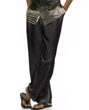 "Solid Linen-Blend Drawstring Pants 30"" Inseam"
