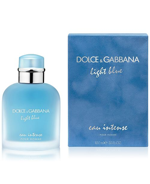 Dolce   Gabbana DOLCE GABBANA Men s Light Blue Eau Intense Pour ... fdc92c49fd4d