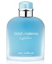 8fd0fd87b6cf DOLCE GABBANA Men s Light Blue Eau Intense Pour Homme Eau de Parfum Spray