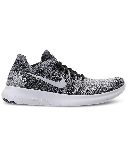 e6775eeaeb1a7 Nike Women s Free Run Flyknit 2017 Running Sneakers from Finish Line ...