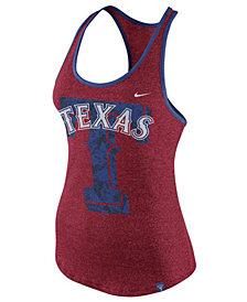 Nike Women's Texas Rangers Marled Racer Tank