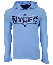 adidas Men's New York City FC Dassler Tactical Hooded Long Sleeve T-Shirt