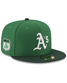 New Era Oakland Athletics St. Pattys Diamond Era 59FIFTY Cap