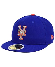Kids' New York Mets Authentic Collection 59FIFTY Cap