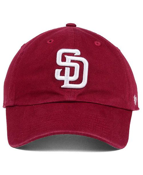 f6af1412dc7d08 ... switzerland 47 brand san diego padres cardinal and white clean up cap  sports fan shop by