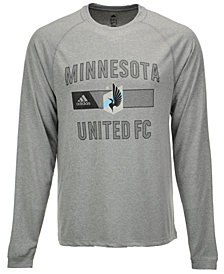 adidas Men's Minnesota United FC Forward Long Sleeve T-Shirt