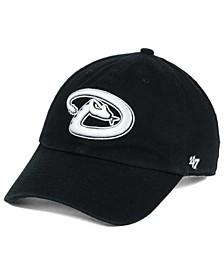 Arizona Diamondbacks Black White Clean Up Cap