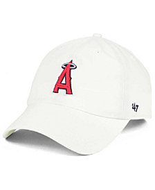 '47 Brand Los Angeles Angels of Anaheim White Clean Up Cap