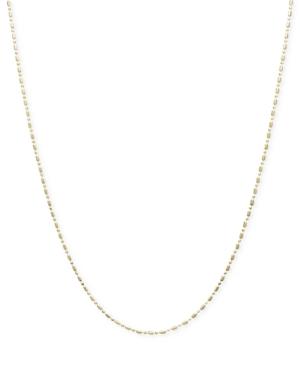 "14k Gold Necklace, 18""..."