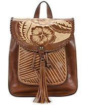 Patricia Nash Cuban Carved Jovanna Small Backpack