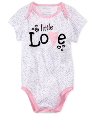 First Impressions Little Love Cotton Bodysuit Baby Girls (024 months) Created for Macys