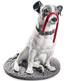 Jack Russell with Licorice Figurine