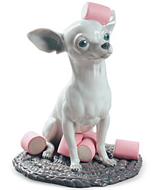 Lladró Chihuahua with Marshmallows Figurine