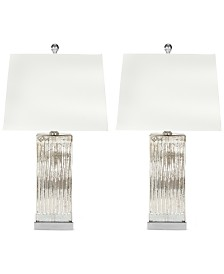 Safavieh Set of 2 Rock Crystal Table Lamps