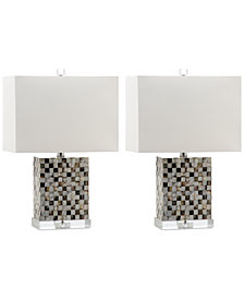 Safavieh Set of 2 Thatcher Table Lamps