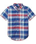 Ralph Lauren Madras Cotton Shirt, Toddler & Little Boys (2T-7)