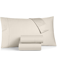 CLOSEOUT! Charter Club Damask Ivory King 4-Pc Sheet Set, 550 Thread Count 100% Supima Cotton, Created for Macy's