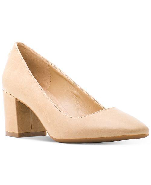e0e22a0f9469 Michael Kors Mira Mid Pumps   Reviews - Pumps - Shoes - Macy s