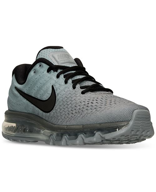 outlet store 136a9 8ddaa Nike Men's Air Max 2017 Running Sneakers from Finish Line ...