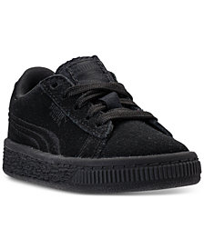 Puma Toddler Boys' Suede Classic Badge Casual Sneakers from Finish Line