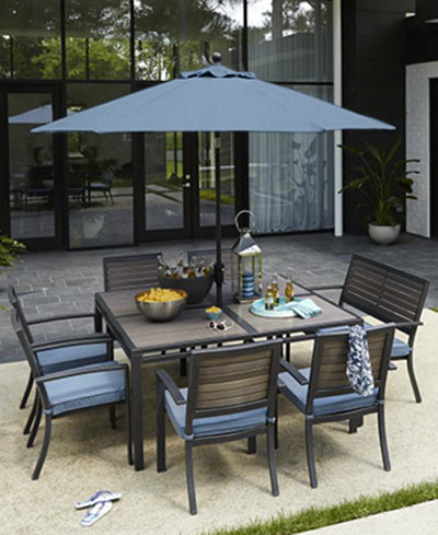 CLOSEOUT! Harlough Outdoor Dining Collection, Created for Macy\'s ...