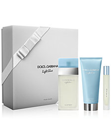 DOLCE&GABBANA 3-Pc. Light Blue Gift Set