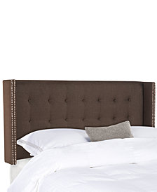Konrad Queen Tufted Headboard, Quick Ship