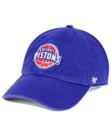 '47 Brand Detroit Pistons Clean Up Cap