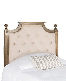 Levins Twin Tufted Headboard, Quick Ship