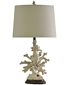 StyleCraft Coral Table Lamp