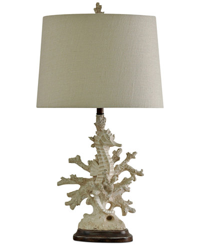 Stylecraft coral table lamp lighting lamps for the home macys stylecraft coral table lamp aloadofball Image collections
