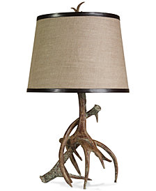 StyleCraft Dalton Antler Table Lamp