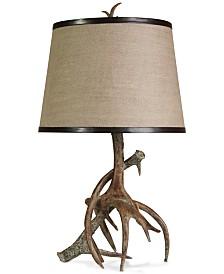 StyleCraft Dalton Antler Table Lamp