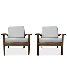 Bradden Set of 2 Club Chairs