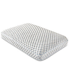 CLOSEOUT! Dream Science Extreme Cool Memory Foam Gusset Standard Queen Pillow by Martha Stewart Collection, Created for Macy's