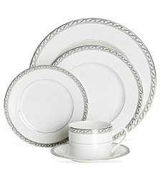 Mikasa Dinnerware, Infinity Band Collection