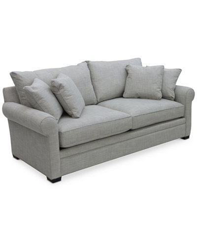 Macys Sofa Dial Ii 89 Sofa With 4 Toss Pillows Furniture