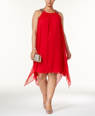 Plus Size Red Dress: Shop Plus Size Red Dress - Macy's