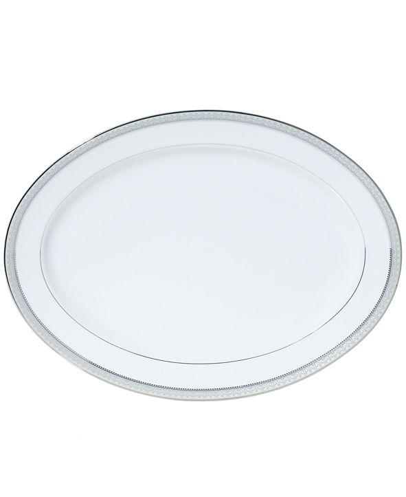 Mikasa Platinum Crown Oval Platter