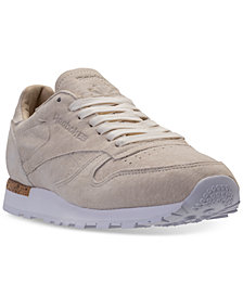 Reebok Men's Classic Leather LST Casual Sneakers from Finish Line