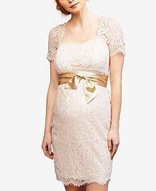 Seraphine Maternity Lace Sheath Dress