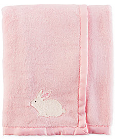 Carter's Bunny Plush Blanket, Baby Girls